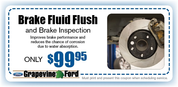Brake Fluid Flush Service Coupon, Grapevine, TX Automotive Service Special