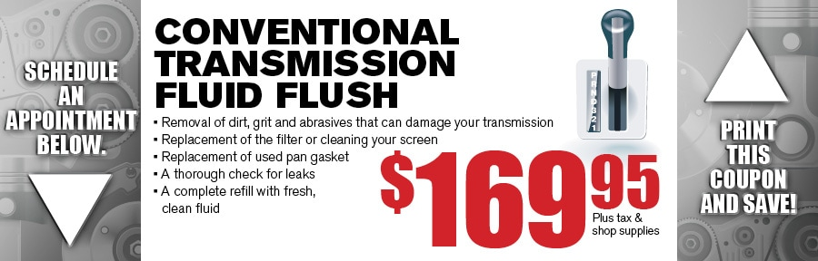 Money Saving Auto Service Coupon from Texas Toyota of Grapevine TX for Transmission Fluid Flush