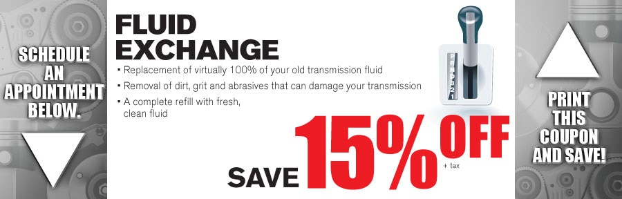 Money Saving Auto Service Coupon from Texas Toyota of Grapevine TX for Fluid Exchange Service