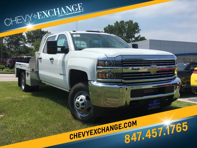 2017 Chevrolet Silverado 3500HD Chassis WT Truck Crew Cab For Sale in lake Bluff, IL