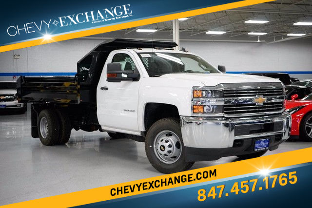 2017 Chevrolet Silverado 3500HD Chassis WT Truck Regular Cab For Sale in lake Bluff, IL