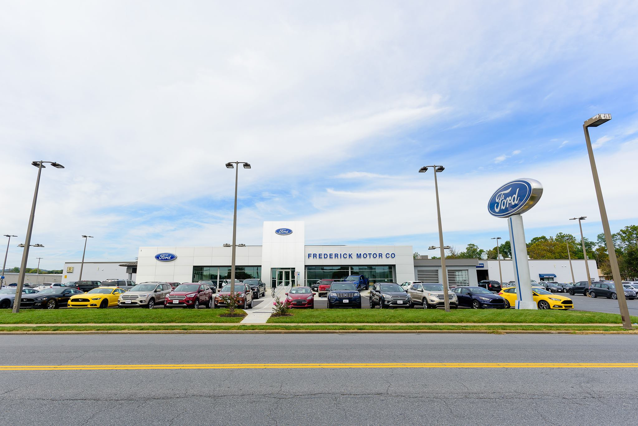 The frederick motor company new dealership in for Frederick subaru motor company