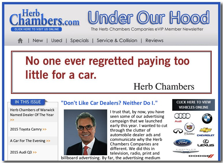 Herb Chambers New Car Guarantee
