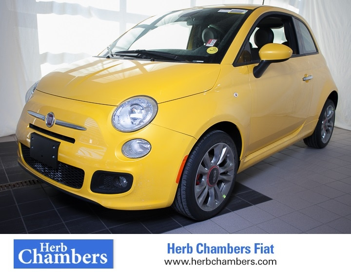 Used 2015 FIAT 500 Sport Hatchback for sale in the Boston MA area