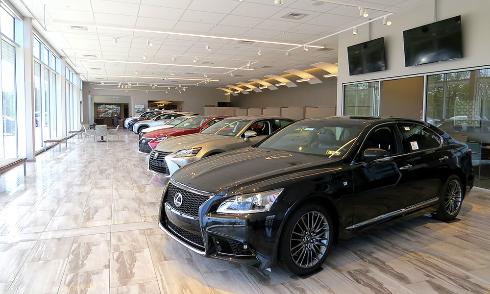 Thompson Lexus Willow Grove Showroom