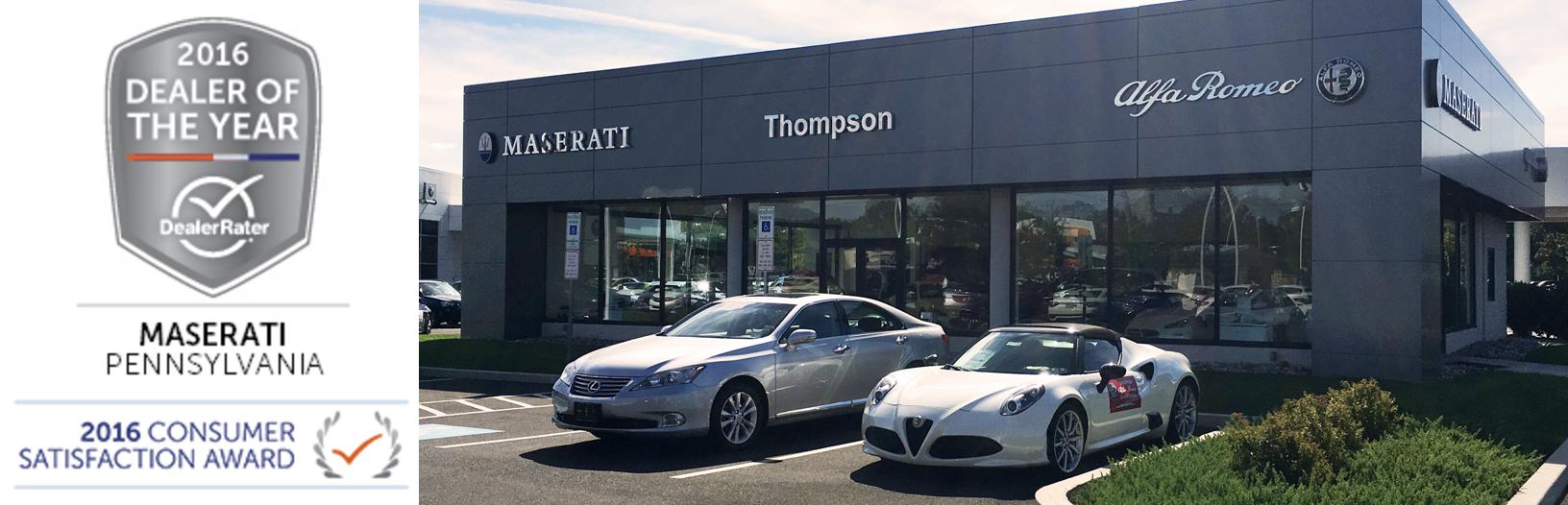 Maserati Wayne Maserati Dealer Near Wayne PA - Maserati car dealership