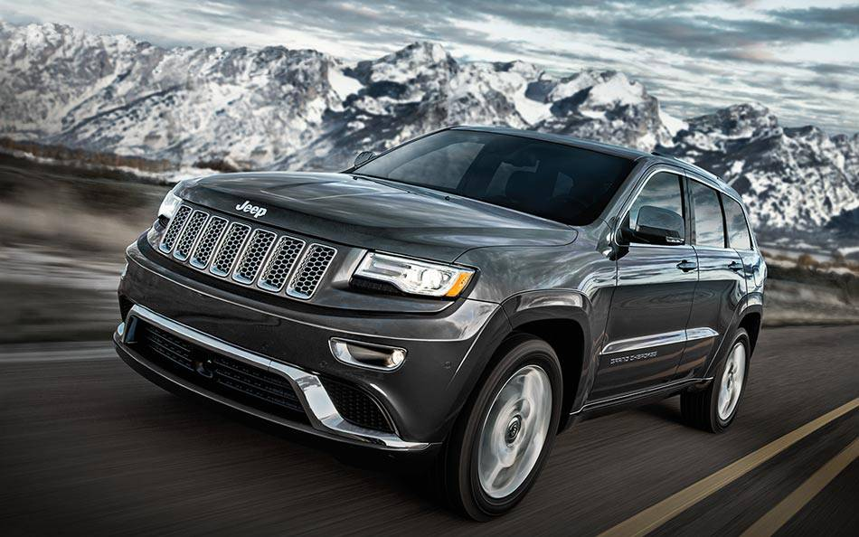 2015 Jeep Grand Cherokee Exterior Front