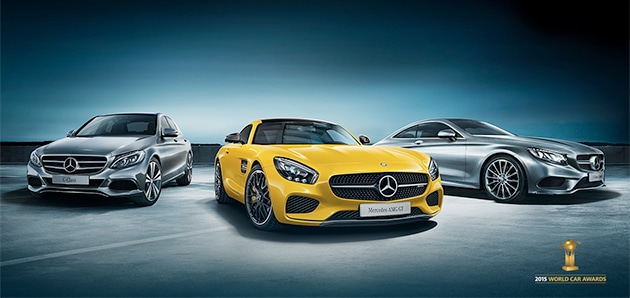 Mercedes-Benz wins three at World Car of the Year Awards