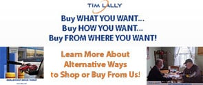 You can shop or buy entirely from home with Tim Lally Chevrolet, this includes test drives at your home.