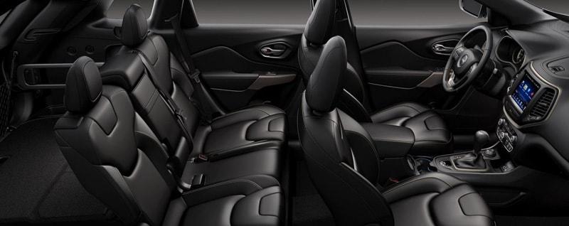 2018 Jeep Cherokee Latitude Interior