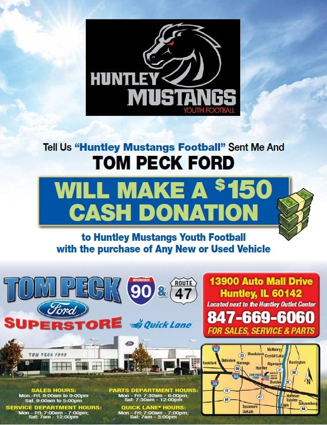 Community Outreach Flyers | Tom Peck Ford in Huntley, IL