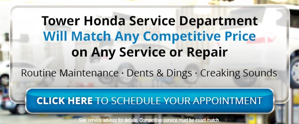 Honda Service Center serving Tyler & Marshall TX