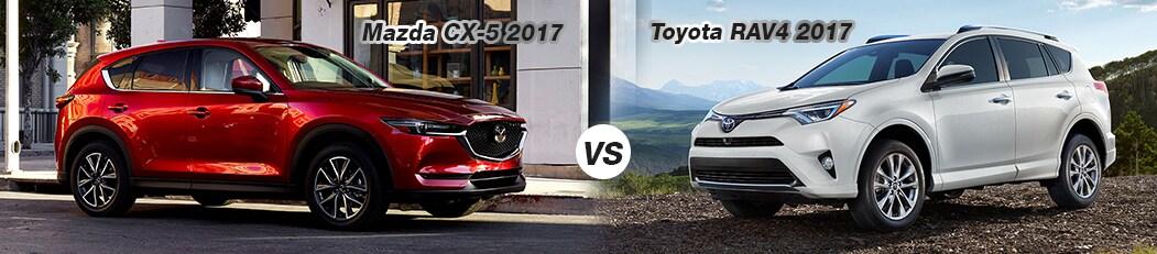Mazda CX-5 2017 vs Toyota RAV4