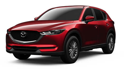Mazda CX-5 front and leftside view
