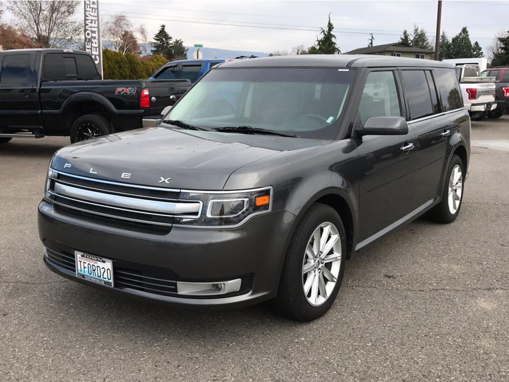 2018 Ford Flex Limited 2018 Ford Flex Limited AWD Odometer is 5270 miles below market average 12