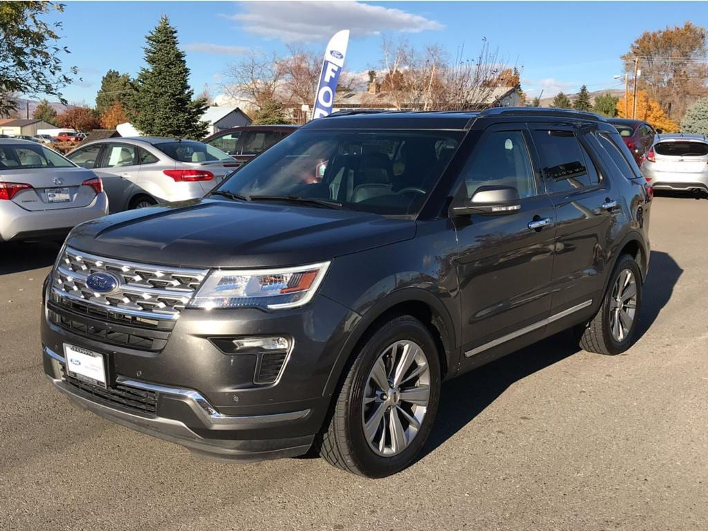 2018 Ford Explorer Limited 2018 Ford Explorer Limited AWD Certified Ford Certified Pre-Owned Deta