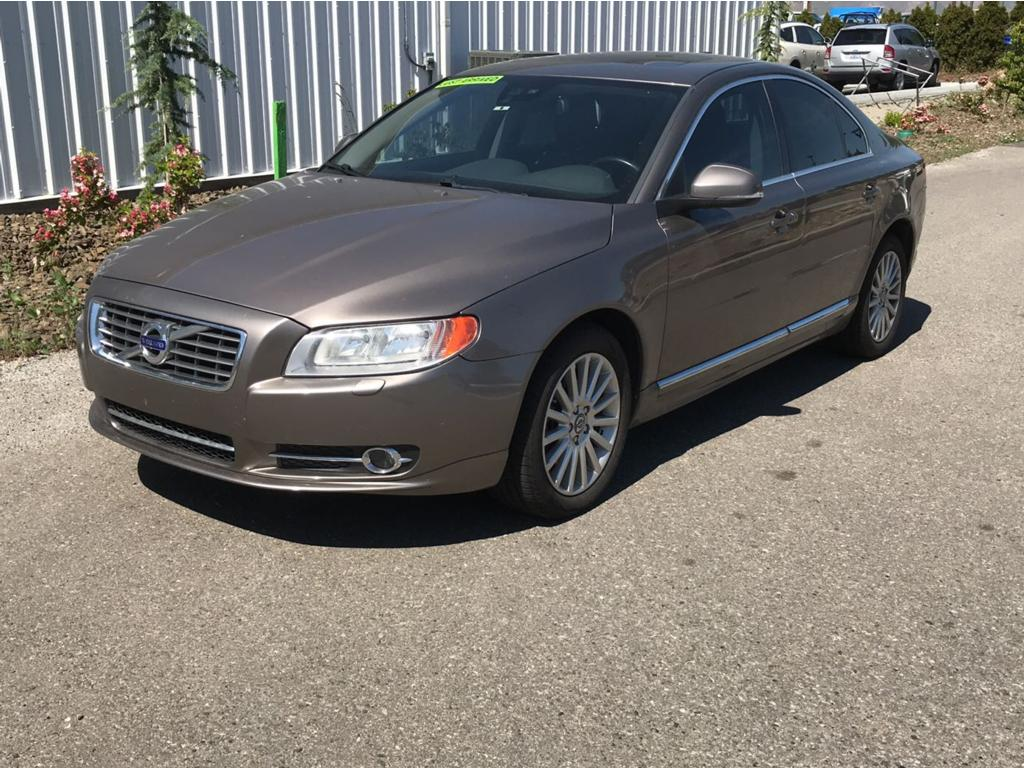 2012 Volvo S80 32 Brown 2012 Volvo S80 32 FWD 6-Speed Automatic with Geartronic 32L I6 24V Off-B