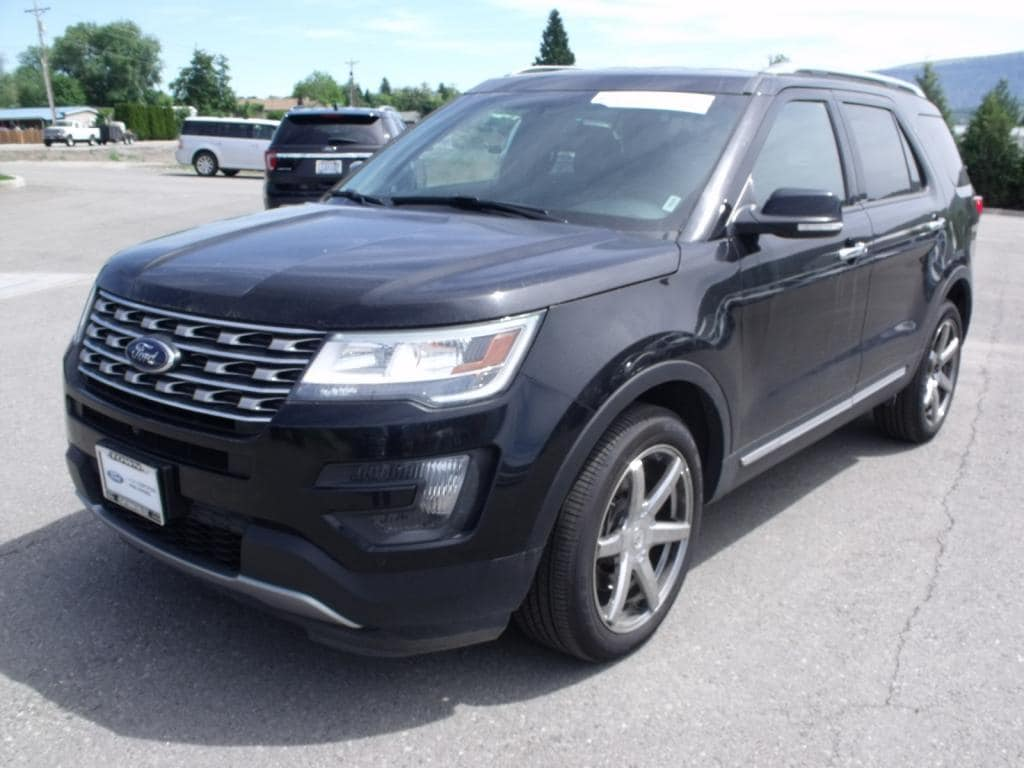 2016 Ford Explorer Limited Black 2016 Ford Explorer Limited AWD 6-Speed Automatic with Select-Shift