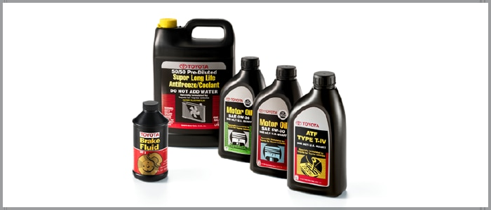 Toyota Service Fluid Replacement
