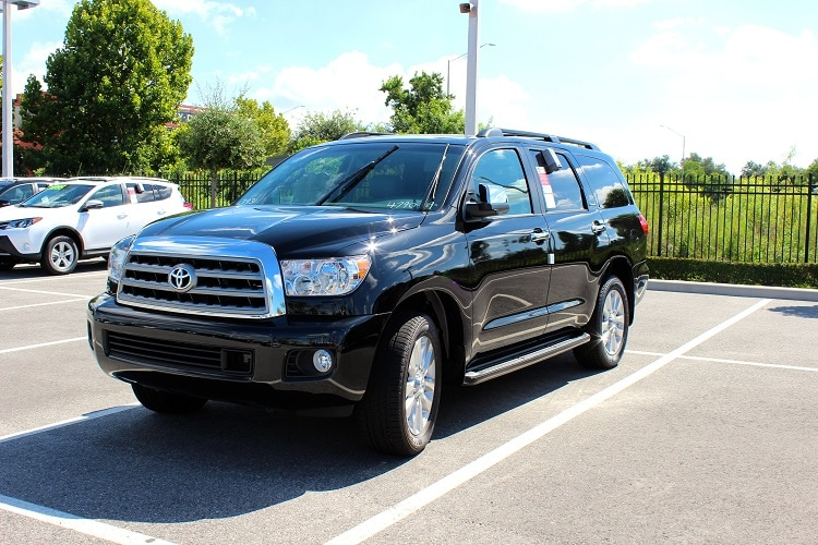 2016 Toyota Sequoia near Orlando