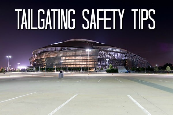safety tips for tailgating