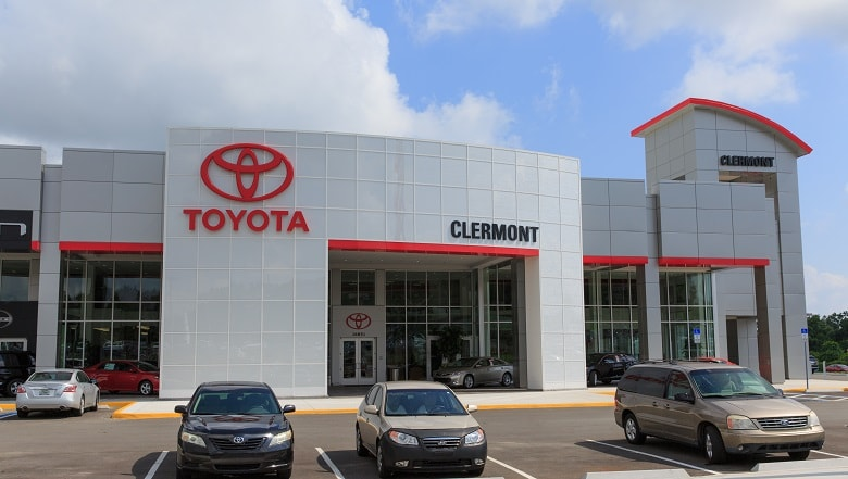 Toyota dealer near Orlando
