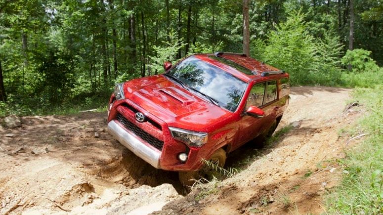 new Toyota off-road