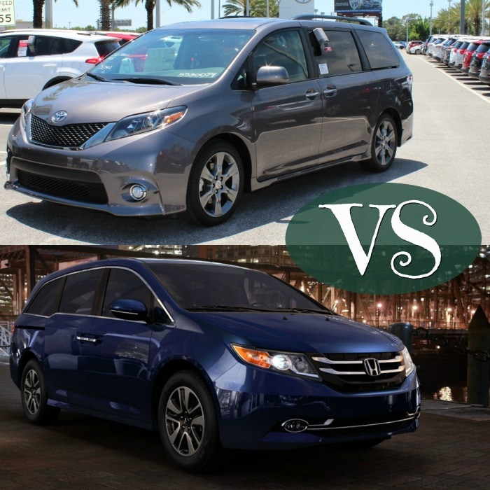 Toyota Sienna comparison