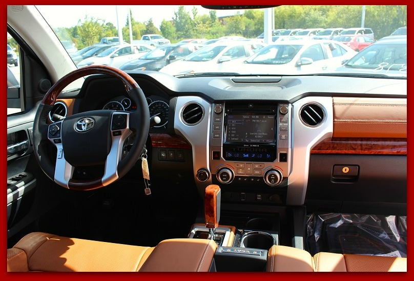 New Toyota Tundra truck