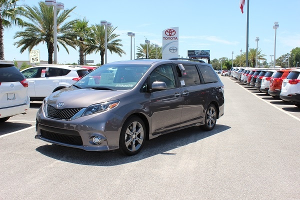 2016 Toyota Sienna deals