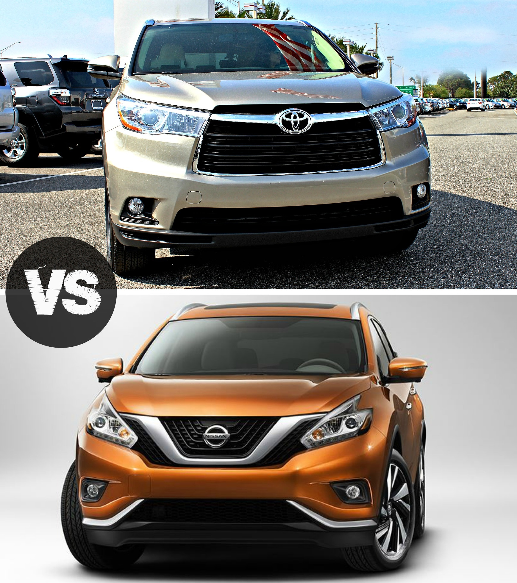 Ford Dealers In Orlando: 2016 Toyota Highlander Vs Nissan Murano