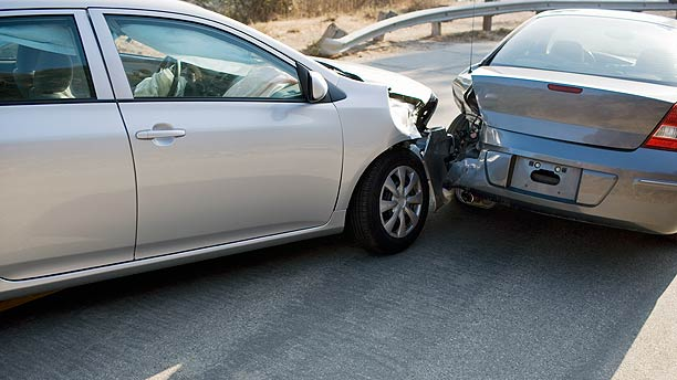 Used car accident damage