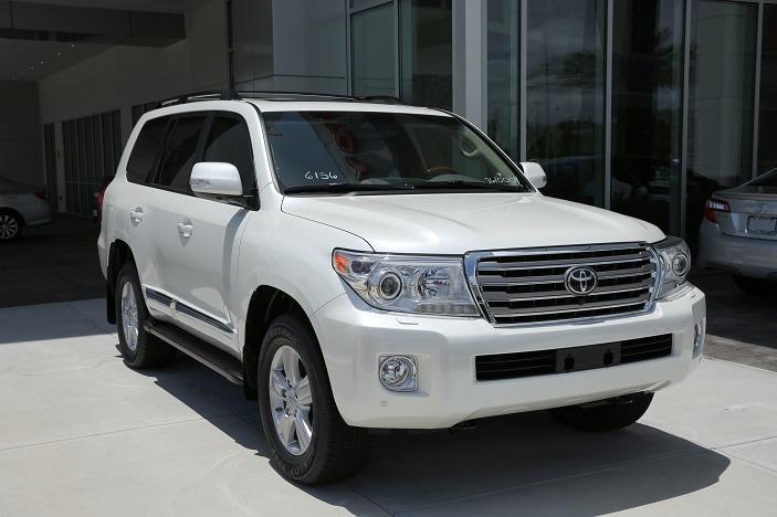 New Toyota SUV near Orlando