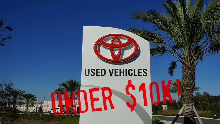 best used cars under $10,000