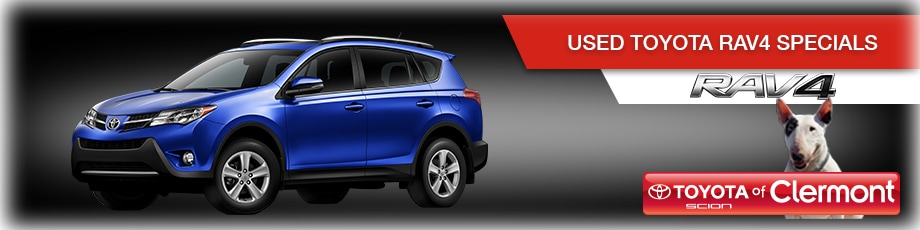 Used Toyota RAV4 deals in Orlando