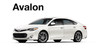 Toyota Avalon Specials