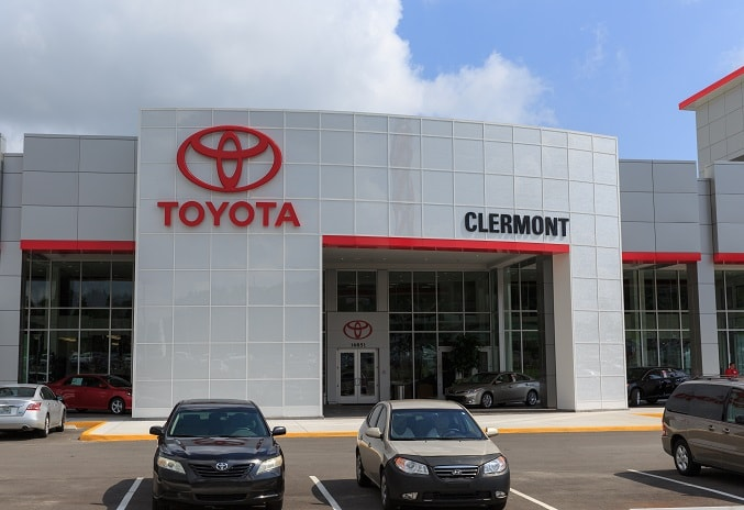 new Toyota dealership