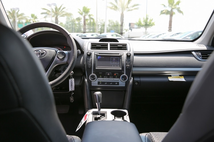 new Toyota Entune System