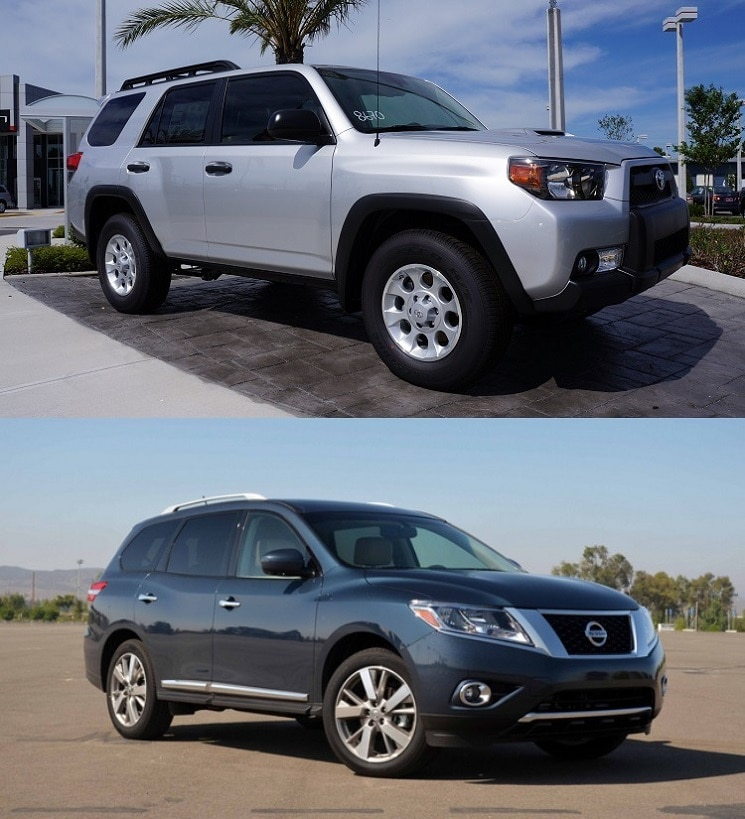 2014 toyota 4runner vs nissan pathfinder toyota near orlando fl. Black Bedroom Furniture Sets. Home Design Ideas