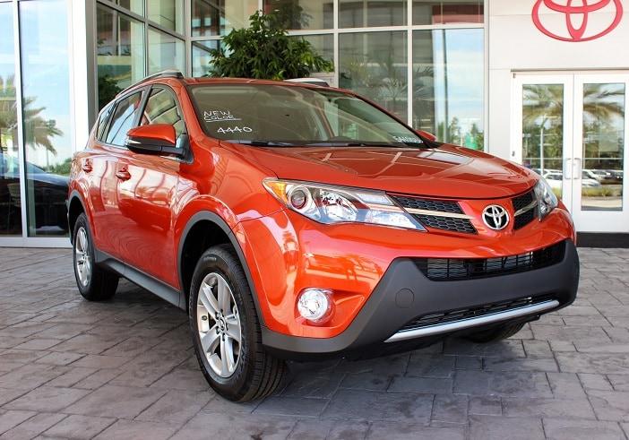 New Toyota RAV4 near Orlando