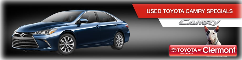 Used Toyota Camry deals in Orlando