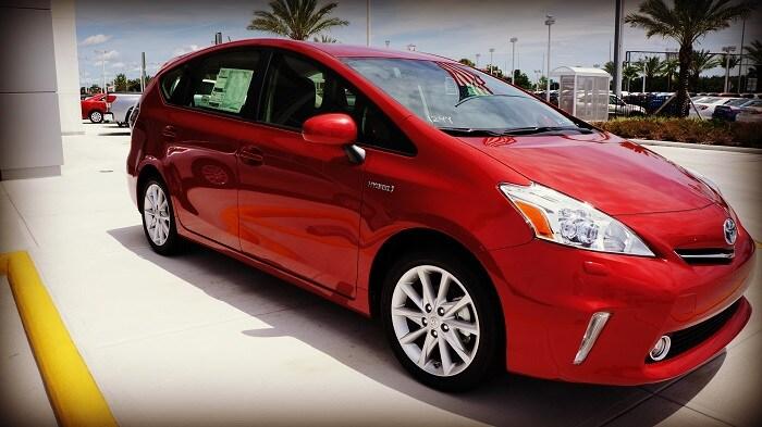 Toyota Prius near Orlando