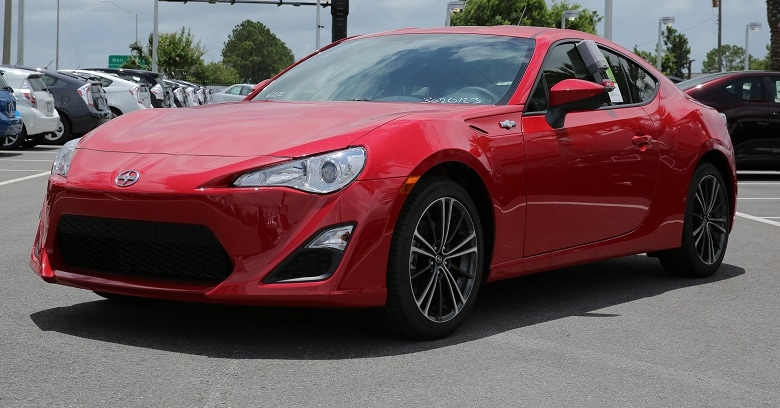 new Scion sports car near Orlando