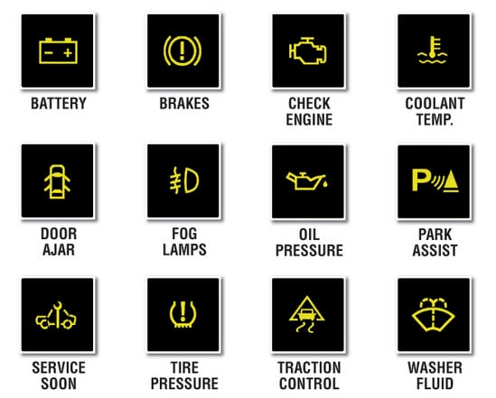 toyota prius warning lights guide