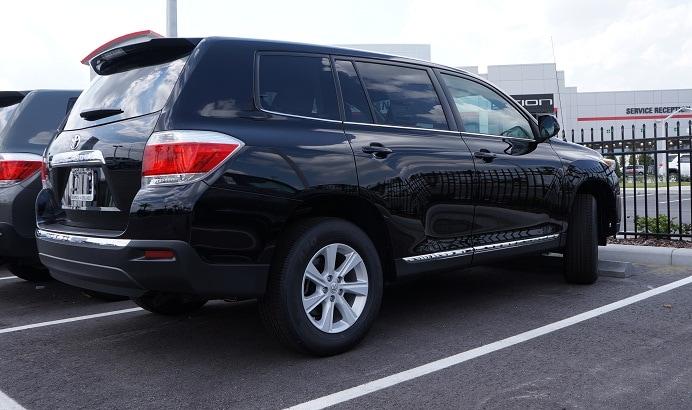 Toyota Highlander near Charlotte