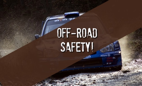 off-road safe driving tips