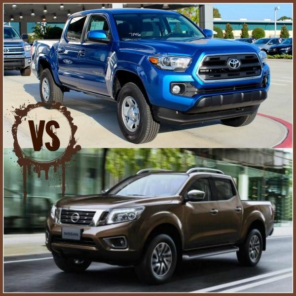 2016 toyota tacoma vs nissan frontier truck comparisons. Black Bedroom Furniture Sets. Home Design Ideas