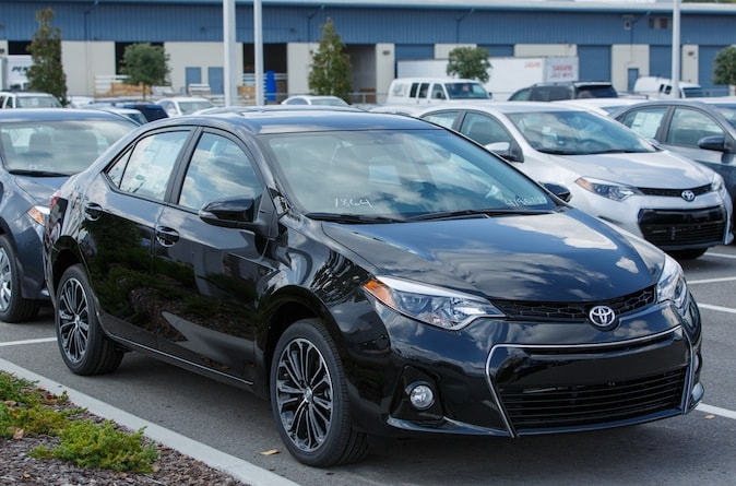 new Toyota Corolla in N Charlotte