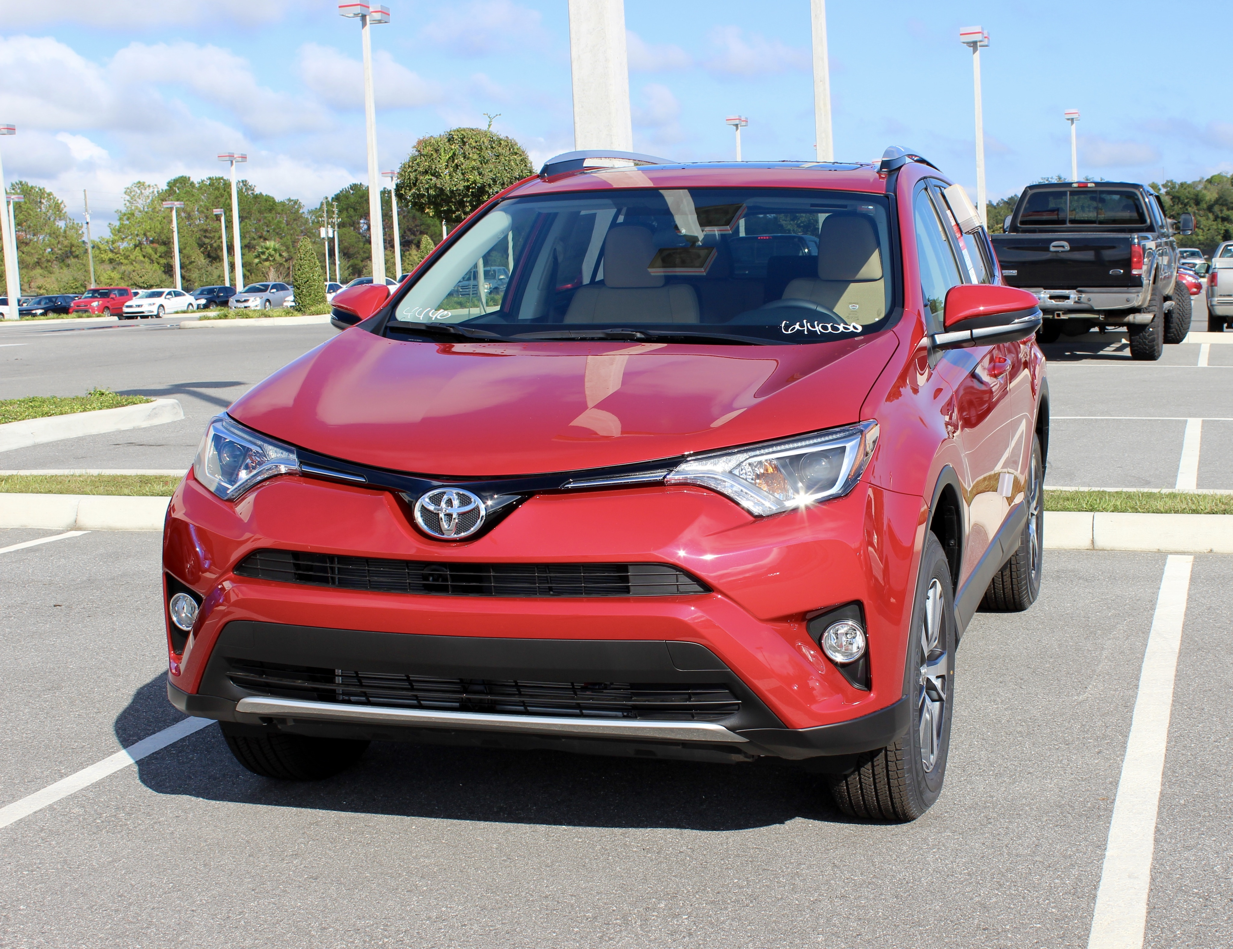 New Toyota SUV near Charlotte