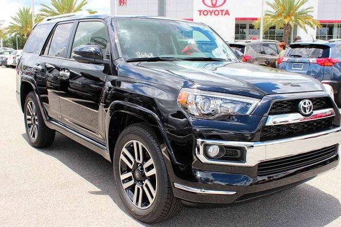 new Toyota SUV in N Charlotte